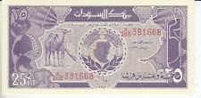 Sudan  25 Piaster     kassenfrisch