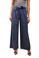 Free People Damen Bluebell Belted OB814977 Hose entspannt blau Größe XS