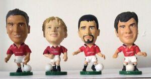 4 Corinthian football figures 1995 mum Ltd MAN UTD CANTONA MAY KEANE McCLAIR