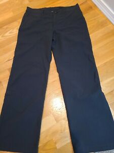 PATAGONIA - WOMEN'S SIZE 10 - BROWN ROLL UP LEG HIKING CAMPING PANTS