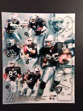 1999 OAKLAND RAIDERS 8x10 Team Composite 8x10 Photo