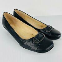 Diana Ferrari New in Box Genuine Leather Black Women's Shoes Size 7.5