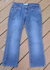 Womens Hipster Blue Jeans Size 7 Cotton Blend Medium Wash 33x26