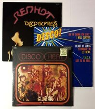 RARE 70's FUNK Disco Comp LP Lot OG Heat Fever Redhot Express Beats BREAKS VG+