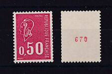 FRANCE N° 1664 e Neuf ** Roulette N° Rouge