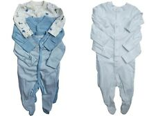 15% OFF 3-Pack New MOTHERCARE COTTON  SLEEPSUITS BABYGROWS Girls BOYS