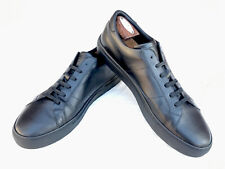 """GREATS BROOKLYN """"Royale"""" Men's Black Sneakers Shoes Size 13 US Made in Italy"""