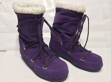Tecnica Womens Butter Mid Moon Boots Purple Tall Size 39 8.5 US JBY