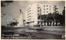 Pernambuco Brazil Grande Hotel Real Photo Vintage Postcard JI658057
