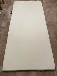 Bamboo Panda Memory Foam / Cool Gel Mattress Topper, Removable Cover - EU SINGLE