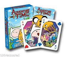 Adventure Time The Cast Playing Cards Cartoon Network Poker Deck New Sealed Mint