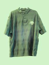 Guinness Official Polo Shirt Mens 2XL Dark Green Short Sleeve Harp Logo