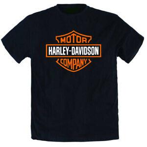Maglietta T-Shirt Harley Davidson Moto Motorcyclist Maglia tshirt uomo donna