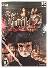 Guild 2: Venice (PC, 2008) SEALED RETAIL BOX - STAND ALONE GAME - FREE U.S. SHIP