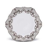 "L'Objet Platinum  Alencon Dinner Plate AC3100 11"""