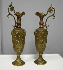 Antique Brass Ewers Pitcher Jug Amphora With Lovely Design Excellent Quality