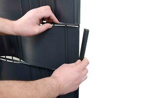 Klemmleiste Clips 20 Stück für Sichtschutzstreifen Doppelstabmatten Zaun