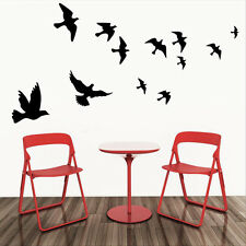 DIY Flying Birds Art Wall Stickers Vinyl Removable Decals Mural Home Decor AU