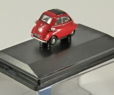 BMW ISETTA Bubble Car in Red 1/76 scale model OXFORD DIECAST
