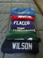 Lot Of 5 NFL Jerseys Vintage Nike Reebok YOUTH  XL