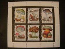 BULGARIA 1991 - POISONOUS MUSHROOMS MS MNH