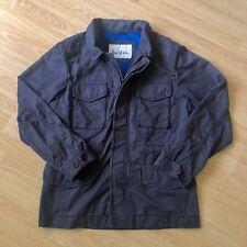 Men's BODEN Jacket Coat Waxed Blue - Size Medium / M