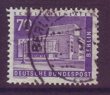 Gestempelte Briefmarken aus Berlin (1949-1990) mit Bauwerks-Motiv