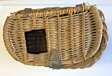 Vintage Wicker Fishing Creel