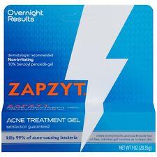Zapzyt Acne Treatment Gel Benzoyl Peroxide 10% 28.35 g EXP 03/2022