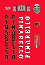 PINARELLO ASOLO 1988 FRAME DECAL SET
