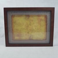 Framed Narnia Map by Zondervan 2005 Inspirio Frosted Glass VGC