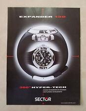 A821-Advertising Pubblicità-2000 - SECTOR EXPANDER 130 - OROLOGIO