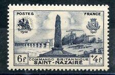 TIMBRE FRANCE NEUF N° 786 ** DEBARQUEMENT SAINT NAZAIRE