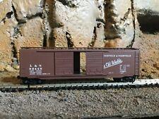 N Scale Micro trains 50' double opening door boxcar LOUISVILLE NASHVILLE NIB
