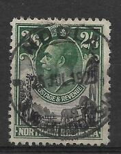 N.RHODESIA, KGV 1925 ISSUE,  2/6d  SG 11, GOOD TO FINE USED, CAT £  15