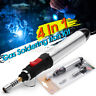 4in1 Gas Blow Torch Soldering Solder Iron Gun Butane Cordless Welding Pen Burner