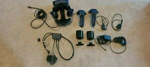 HTC Vive Pro Eye with 2.0 base stations, controllers and all cords and chargers.