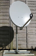 Gibertini 60cm Satellite Dish and Ground or Flat Roof Stand