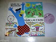 Globi nel märliland globi a Dr chilbi * RARE svizzero 60s LP Phonag label *