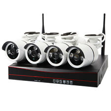 WIFI 720P Wireless NVR HD Night Vision Outdoor IP CCTV Camera Security System