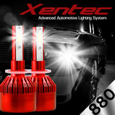 XENTEC LED HID Foglight kit 881 White for 1986-1986 Cadillac Fleetwood