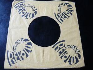 "ROCKSTEADY REVOLUTION RECORDS UK ORIGINAL COMPANY 7"" RECORD SLEEVE...SKA REGGAE"