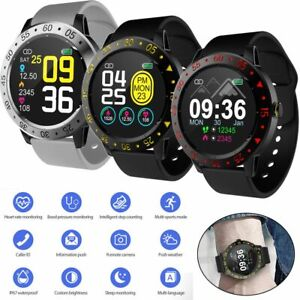 Boys Bluetooth Smart Watch Activity Tracker Heart Rate Monitor for iOS Huawei