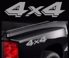 Dodge Dakota 4x4 Decals Truck Replacement Stickers Vinyl Graphics  2 set SIVER