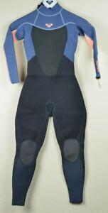 Roxy Wetsuit 3/2 PROLOGUE Girl BZ FLT Size 10G Color CLD BLK/PderDGr/Glow