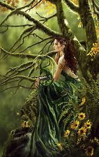 Jigsaw Puzzle Fantasy Portrait Mythology Queen of Fate 550 piece NEW made in USA