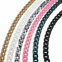 Detachable Acrylic Plastic Chain Shoulder Strap Colorful DIY Fashion Bag Handles