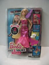 Barbie Day to Night Style Play Set Twist to Transform Doll With Accessories 2015