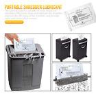 12xPaper Shredder Lubricant Sheets Shredder Lubricating Portable Type Oil Paper