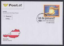 Österreich Austria 2003 FDC Mi.2450 Spendenaktion Charity Licht Dunkel [af135]
